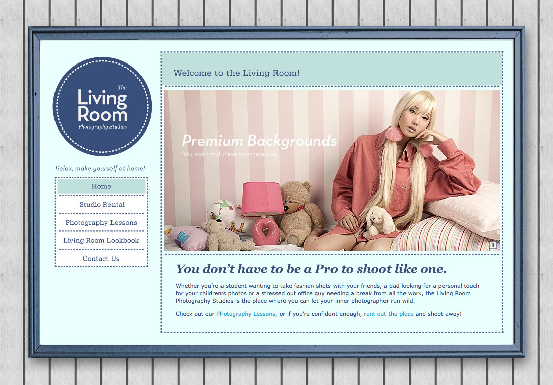 The Living Room Website
