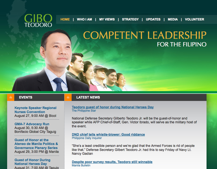 Gibo's website