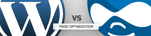 Wordpress vs Drupal: Page Optimization
